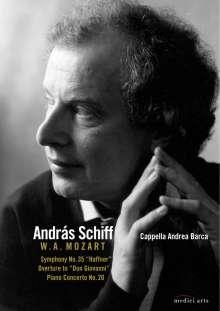 "Wolfgang Amadeus Mozart (1756-1791): Symphonie Nr.35 ""Haffner"", DVD"