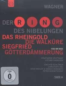 Richard Wagner (1813-1883): Der Ring des Nibelungen, 4 Blu-ray Discs