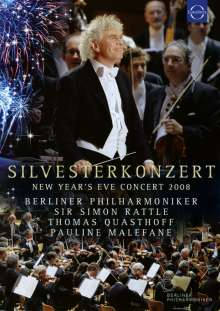 Silvesterkonzert in Berlin 31.12.2008, DVD