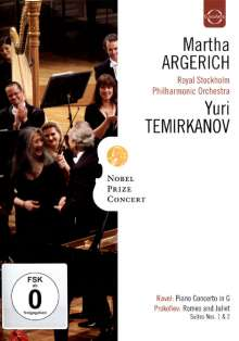 Martha Argerich - Nobel Prize Concert, DVD