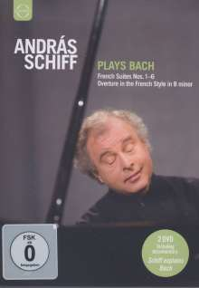 Andras Schiff plays Bach, 2 DVDs