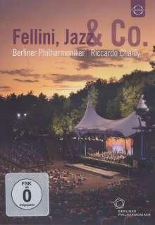 """Berliner Philharmoniker - Waldbühnenkonzert 2011 """"Fellini,Jazz & Co."""", DVD"""