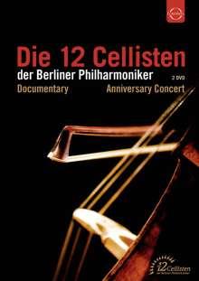 Die 12 Cellisten der Berliner Philharmoniker - 40 Jahre Jubiläumskonzert, 2 DVDs