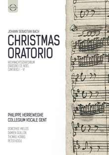 Johann Sebastian Bach (1685-1750): Weihnachtsoratorium BWV 248, DVD