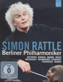 Simon Rattle & Berliner Philharmoniker, 4 Blu-ray Discs