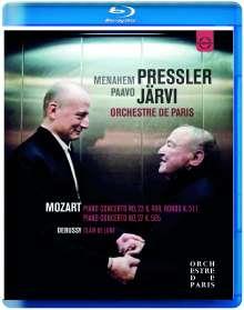 Wolfgang Amadeus Mozart (1756-1791): Klavierkonzerte Nr.23 & 27, Blu-ray Disc