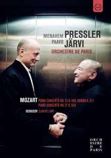 Wolfgang Amadeus Mozart (1756-1791): Klavierkonzerte Nr.23 & 27, DVD