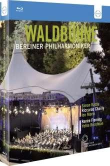 Berliner Philharmoniker - Waldbühnenkonzerte 2009-2011, 3 Blu-ray Discs
