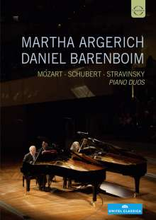 Martha Argerich & Daniel Barenboim - Piano Duos, DVD