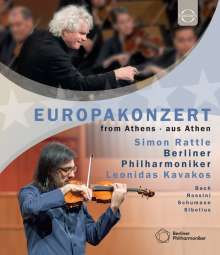 Berliner Philharmoniker - Europakonzert 2015 (Athen), Blu-ray Disc