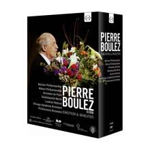 Pierre Boulez  - Emotion & Analysis, 10 DVDs