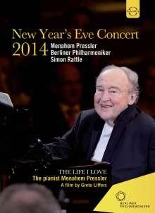 Silvesterkonzert in Berlin 31.12.2014, DVD