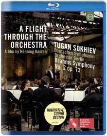 Johannes Brahms (1833-1897): Symphonie Nr.2 (A Flight through the Orchestra), Blu-ray Disc