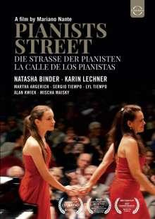Martha Argerich - Die Straße der Pianisten, DVD