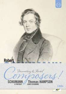 "Robert Schumann (1810-1856): ""Robert Schumann - A Portrait"" & ""Thomas Hampson sings Schumann"", 2 DVDs"