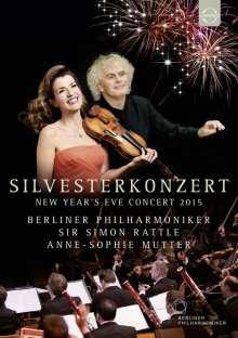 Silvesterkonzert in Berlin 31.12.2015, DVD