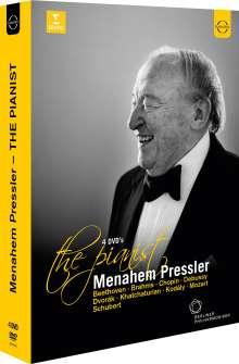 Menahem Pressler - The Pianist, 4 DVDs