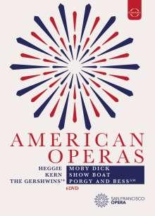 American Operas, 6 DVDs