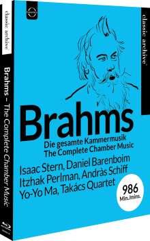 Johannes Brahms (1833-1897): Kammermusik (Gesamt-Aufnahme), Blu-ray Disc