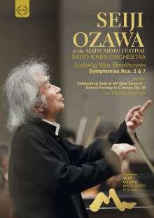 Seiji Ozawa at the Matsumoto Festival, DVD