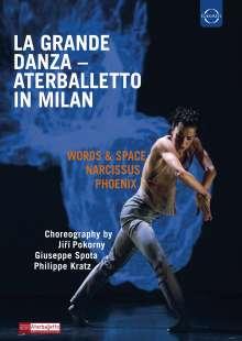 Compagnia Aterballetto in Milan - La Grande Danza, Blu-ray Disc