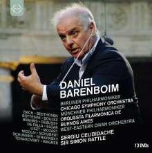 Daniel Barenboim (DVD-Edition Vol.2), 13 DVDs