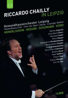 Riccardo Chailly in Leipzig, 4 DVDs