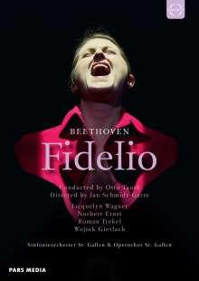 Ludwig van Beethoven (1770-1827): Fidelio op.72, 2 DVDs