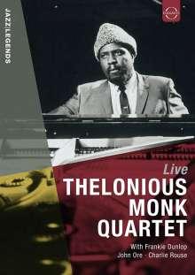Thelonious Monk (1917-1982): Live Palais Des Beaux-Arts, Brussels 1963, DVD