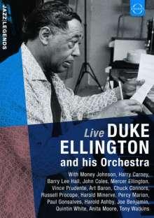 Duke Ellington (1899-1974): Duke Ellington And His Orchestra Live (Marni Hall, Brussels 1973), DVD