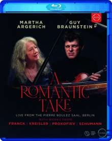 Guy Braunstein & Martha Argerich - A Romantic Take, Blu-ray Disc