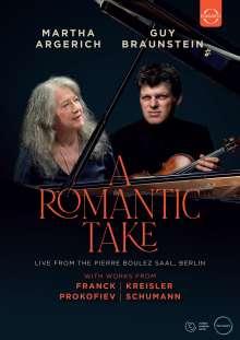 Guy Braunstein & Martha Argerich - A Romantic Take, DVD