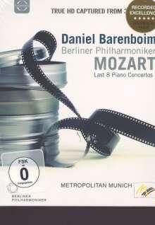 Wolfgang Amadeus Mozart (1756-1791): Klavierkonzerte Nr.20-27, Blu-ray Disc