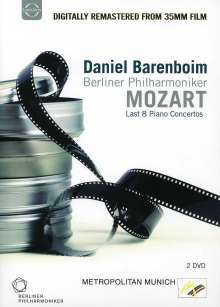 Wolfgang Amadeus Mozart (1756-1791): Klavierkonzerte Nr.20-27, DVD