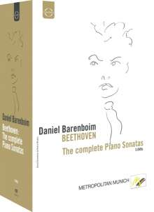 Ludwig van Beethoven (1770-1827): Klaviersonaten Nr.1-32, 5 DVDs