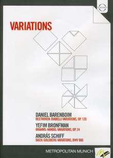 Barenboim/Bronfman/Schiff - Variations, DVD