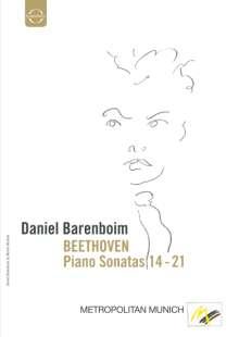 Ludwig van Beethoven (1770-1827): Klaviersonaten Nr.14-21, DVD