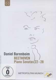 Ludwig van Beethoven (1770-1827): Klaviersonaten Nr.22-28, DVD