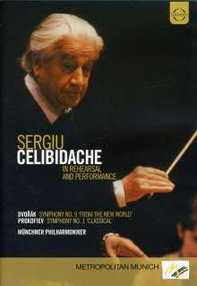 Sergiu Celibidache in Rehearsal and Performance, DVD