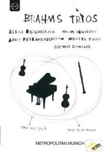 Johannes Brahms (1833-1897): Klaviertrios Nr.1-3, DVD