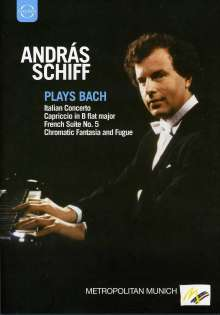 András Schiff plays Bach, DVD