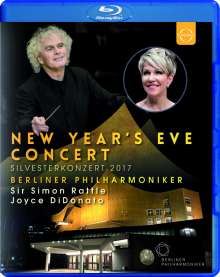 Silvesterkonzert in Berlin 31.12.2017, Blu-ray Disc