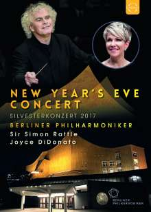 Silvesterkonzert in Berlin 31.12.2017, DVD