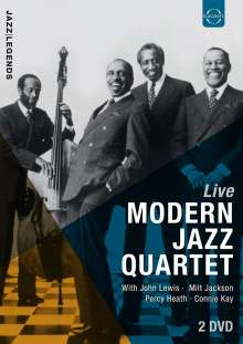 The Modern Jazz Quartet: Live 1961 - 1992, 2 DVDs