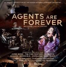 Agents are Forever - Soundtrack Highlights, CD