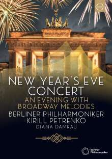 Silvesterkonzert in Berlin 31.12.2019, DVD