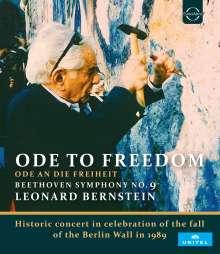 Ludwig van Beethoven (1770-1827): Symphonie Nr.9 (Live-Mitschnitt des Konzerts vom 25.12.1989 anlässlich des Falls der Berliner Mauer), Blu-ray Disc