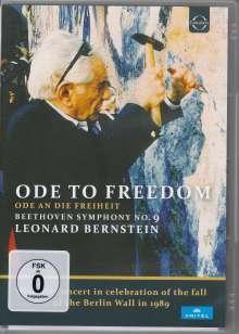 Ode to Freedom - Konzert zum Fall der Berliner Mauer 1989, DVD