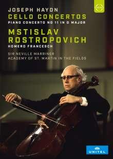 Joseph Haydn (1732-1809): Cellokonzerte Nr.1 & 2, DVD