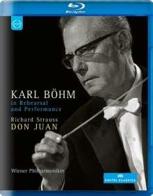 Karl Böhm in Rehearsal & Performance, Blu-ray Disc